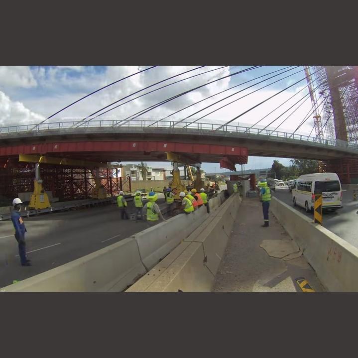 100 Ton super beam removal on bridge SBL 500
